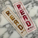 Student Gift - Cross Stitch Bookmark