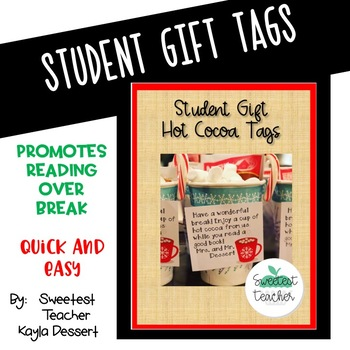 Student Gift: Hot Cocoa Tags