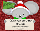 Student Gift: Personalized Bookmarks