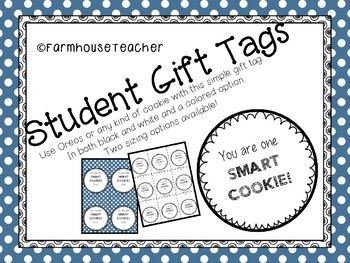 Student Gift Tag