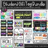 Back to School Gift Tags, Student Gift Tags, End of Year G