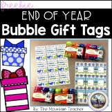 Student Gift Tag for Bubbles