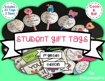 Student Gift Tags-1st Grade Edition