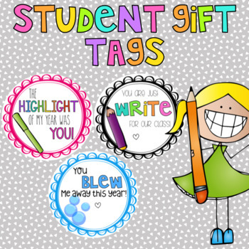 Student Gift Tags