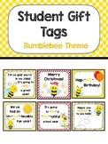 Student Gift Tags - Bumblebee Theme