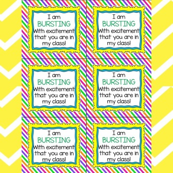 Student Gift Tags Bundle: 20 Gift Tags and Ideas for Back to School