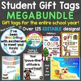 Student Gift Tags MEGA Bundle (Back to School, Holidays, E
