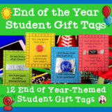 Student Gift Tags for End of Year