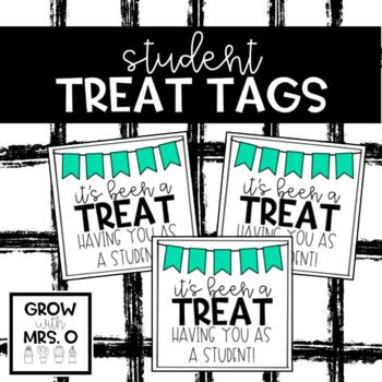 Student Gift Tags (for anytime)