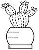 Student Goal Cactus Flipbooks