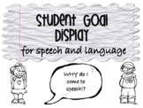 Student Goal Display for Speech