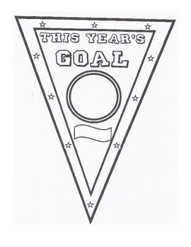 Student Goal Pennant