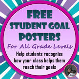Student Goal Posters Freebie