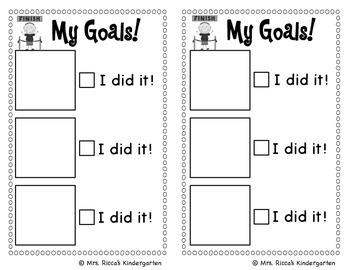 Student Goal Setting Checklist