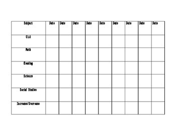 Student-based Goal Setting Sheets - Weekly and Long Term Goals