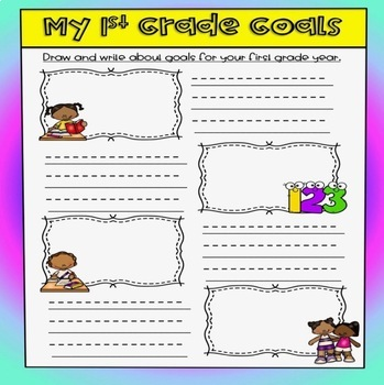 Student Goal Setting - Back to School Activity