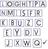 Student Goal Setting Chart Capital Letters