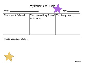 Student Goal Setting Common Core