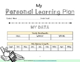 Student Goal Setting Form (PLP) Personal Learning Plan