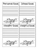 Student Goal Setting / New Years Goal Setting