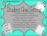 Student Goal Setting Packet~Create SMART goals for NWEA, DRA, and Behavior