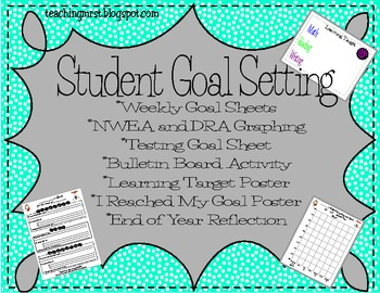 Student Goal Setting Packet~Create SMART goals for NWEA, D