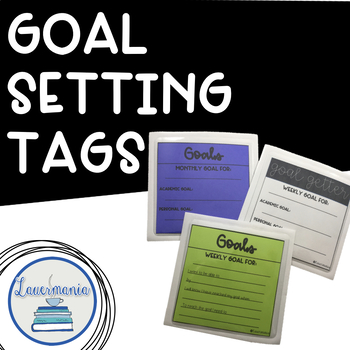Student Goal Setting Tags