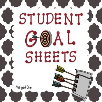 Student Goal Sheets - Goal Folders