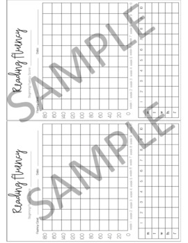 Student Progress Monitoring/Tracking Sheets