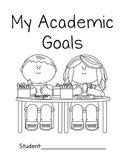 Student Goal Tracking Sticker Book