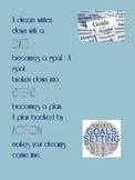 Student Goals Bulletin Board