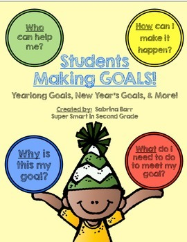 Student Goals, New Year's Goals, & MORE!