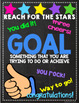 Back to School Student Goals Posters