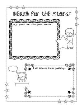 Free Student Goals Worksheet
