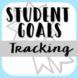 Student Goals for Leadership Notebook or Portfolio