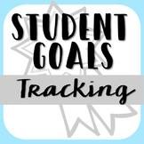 Student Goals for Leadership Notebook or Portfolio