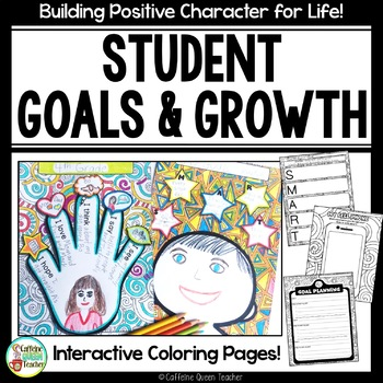 Student Goals for Leadership and Growth - EDITABLE