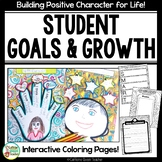 Leadership Goals Coloring Pages EDITABLE