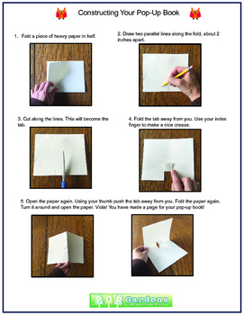 Student Goals for the Year! A Do-It-Yourself Pop-Up Book Project