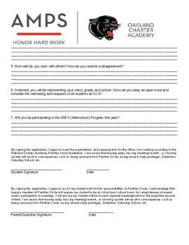 Student Government Application