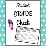 Student Grade Check