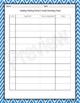 Student Grade Recording Sheets