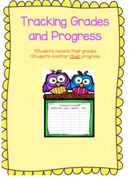 Student Progress Chart