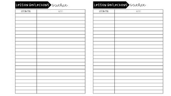 image regarding Grade Tracker Printable called Pupil Quality Tracker + Reflection Sheets upon Classes! (EDITABLE!)