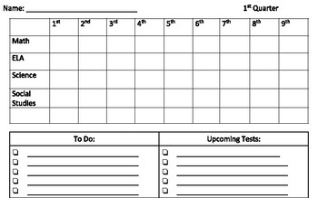 Student Grade and Assignment Tracker