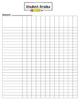 Student Grades Sheet