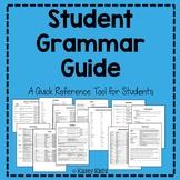 Student Grammar Guide for Sentence Stalking