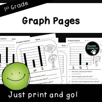 Graph Pages (First Grade, 1.MD.4)