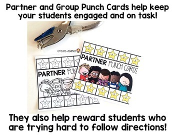 Student Grouping Card BUNDLE