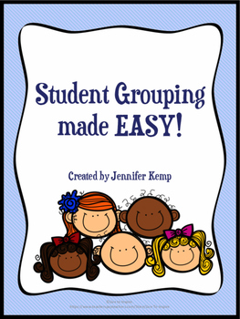 Student Grouping Made Easy
